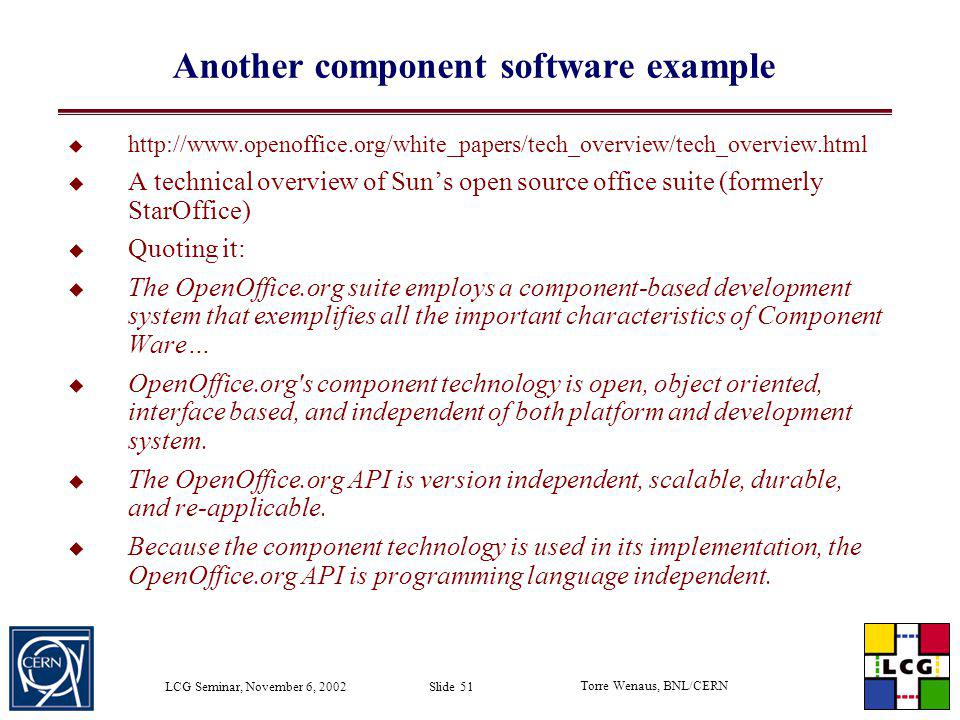 Another component software example