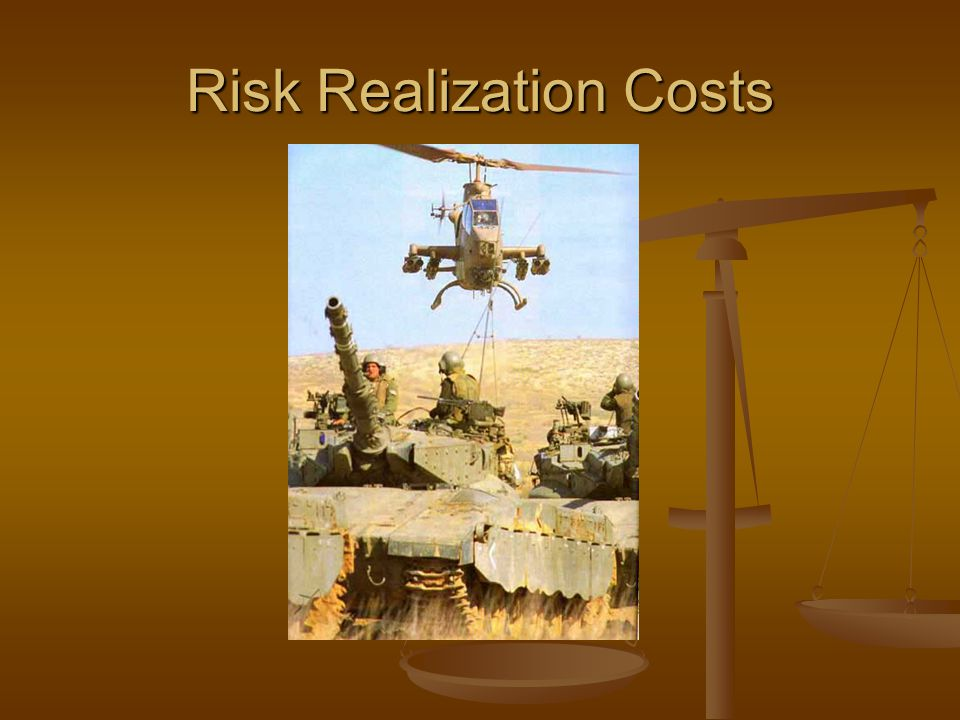 Risk Realization Costs