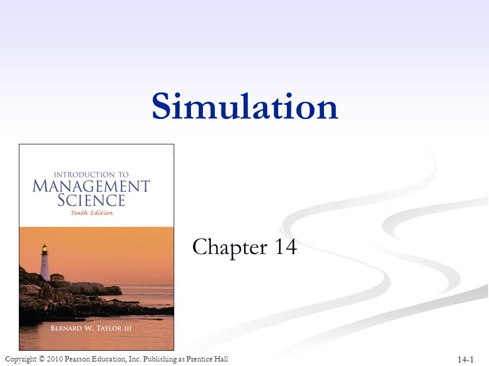 Simulation Chapter 14