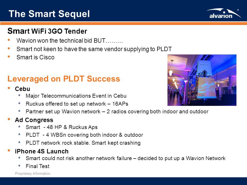 The Smart Sequel Smart WiFi 3GO Tender Leveraged on PLDT Success Cebu