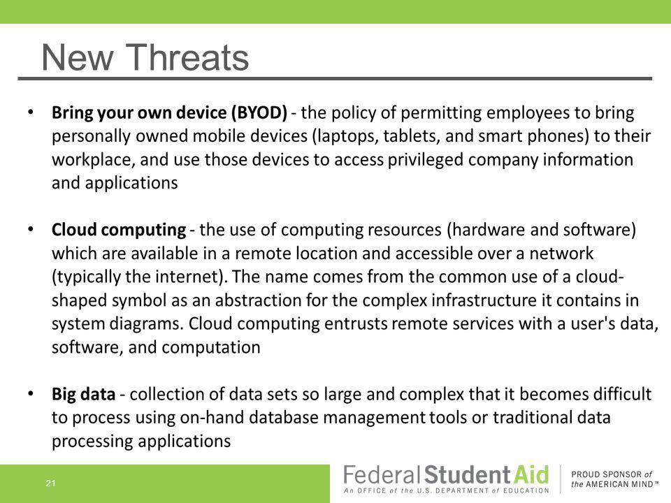 New Threats