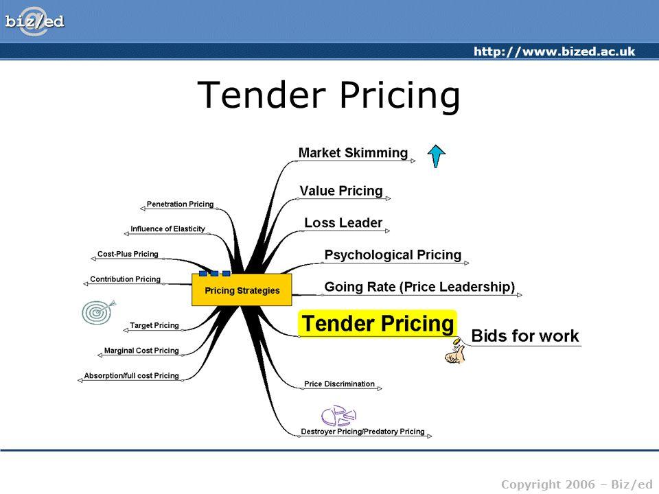 Tender Pricing