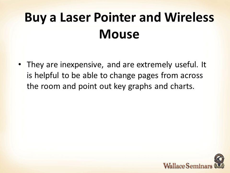 Buy a Laser Pointer and Wireless Mouse