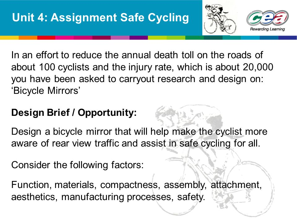 Unit 4: Assignment Safe Cycling
