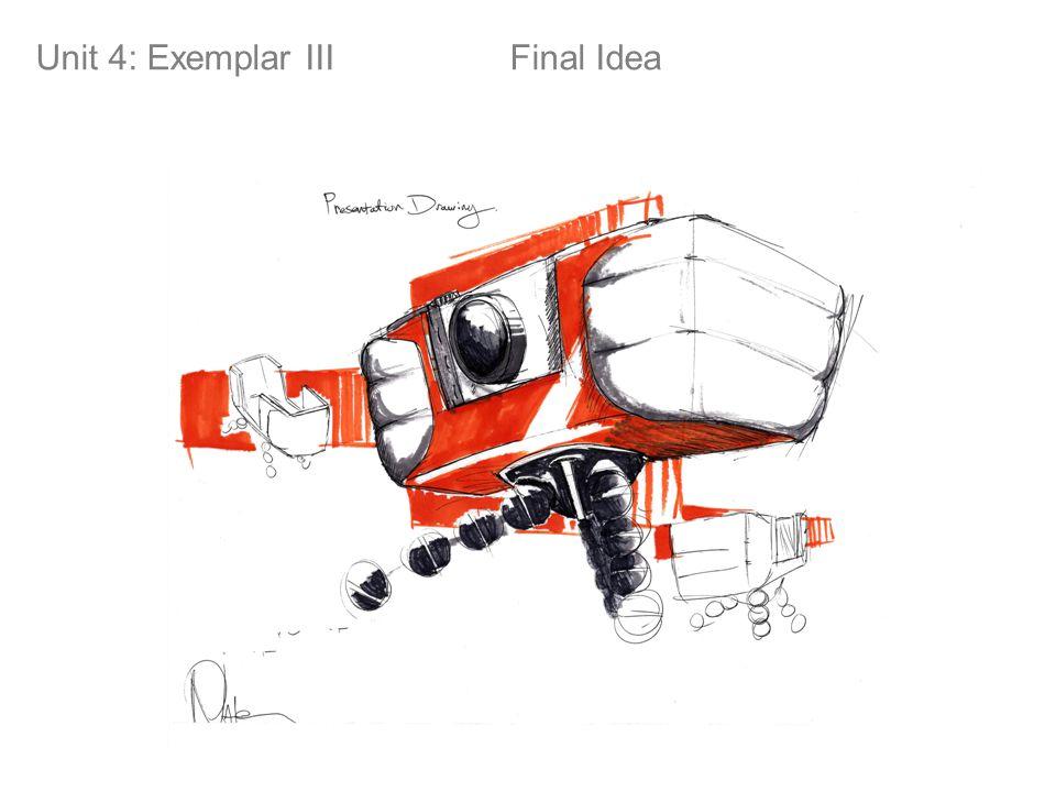 Unit 4: Exemplar III Final Idea Final Idea!