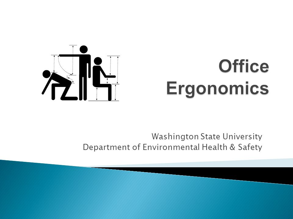 Office Ergonomics Washington State University
