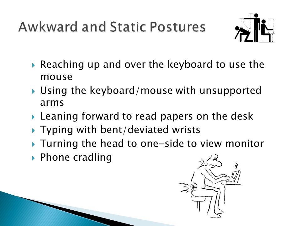 Awkward and Static Postures