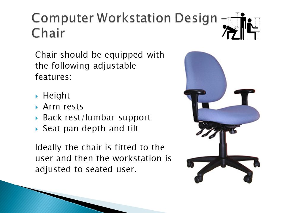 Computer Workstation Design – Chair