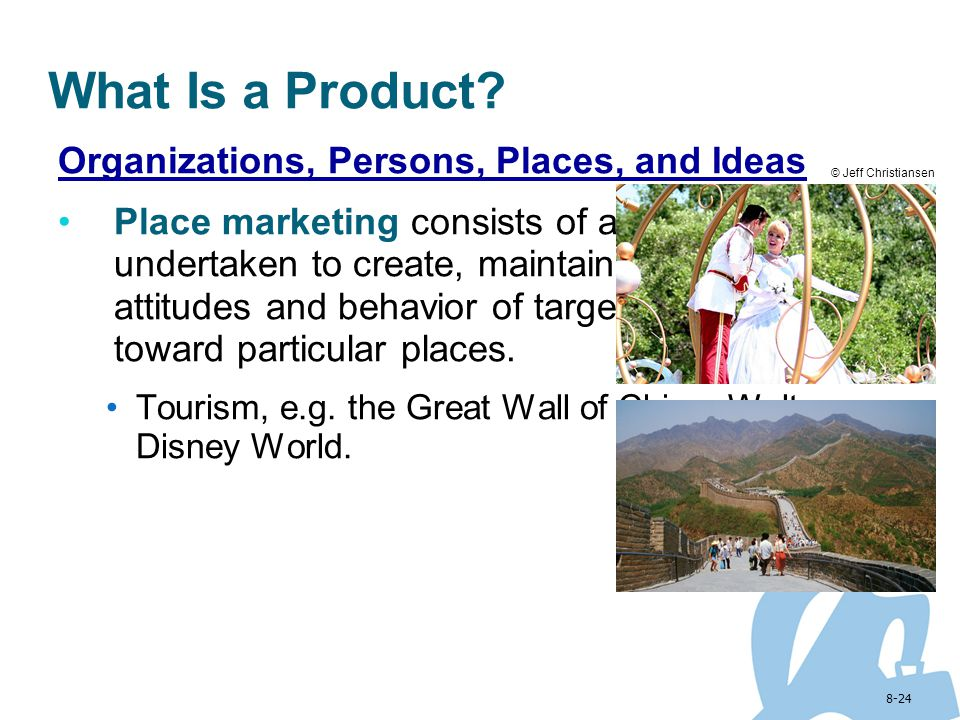 What Is a Product Organizations, Persons, Places, and Ideas