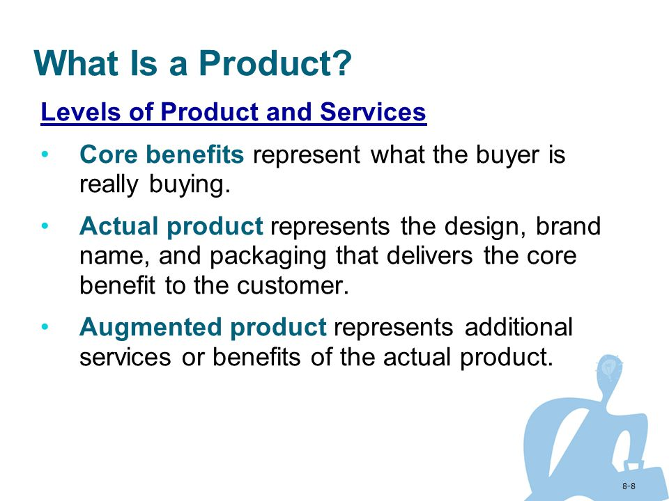 What Is a Product Levels of Product and Services