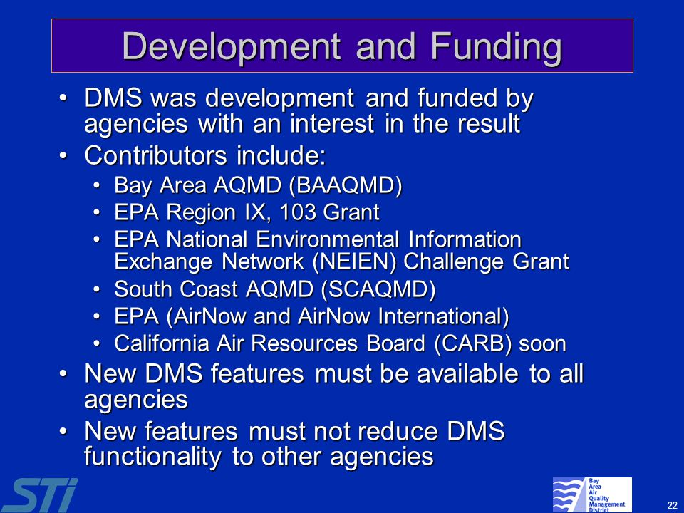 Development and Funding
