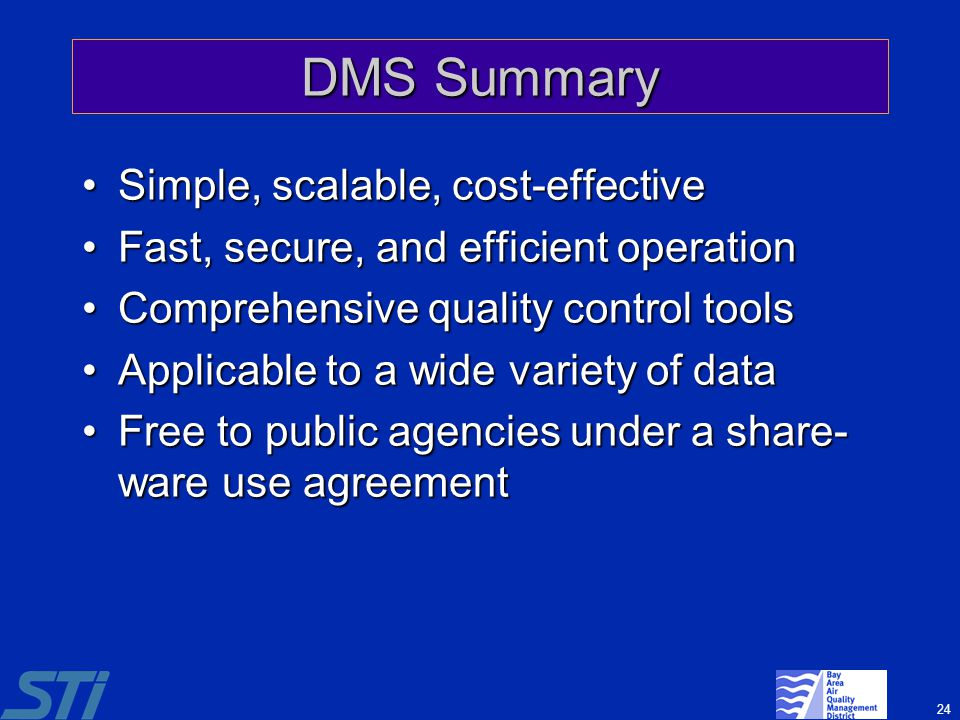 DMS Summary Simple, scalable, cost-effective