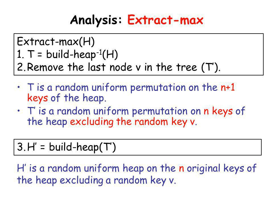 Analysis: Extract-max
