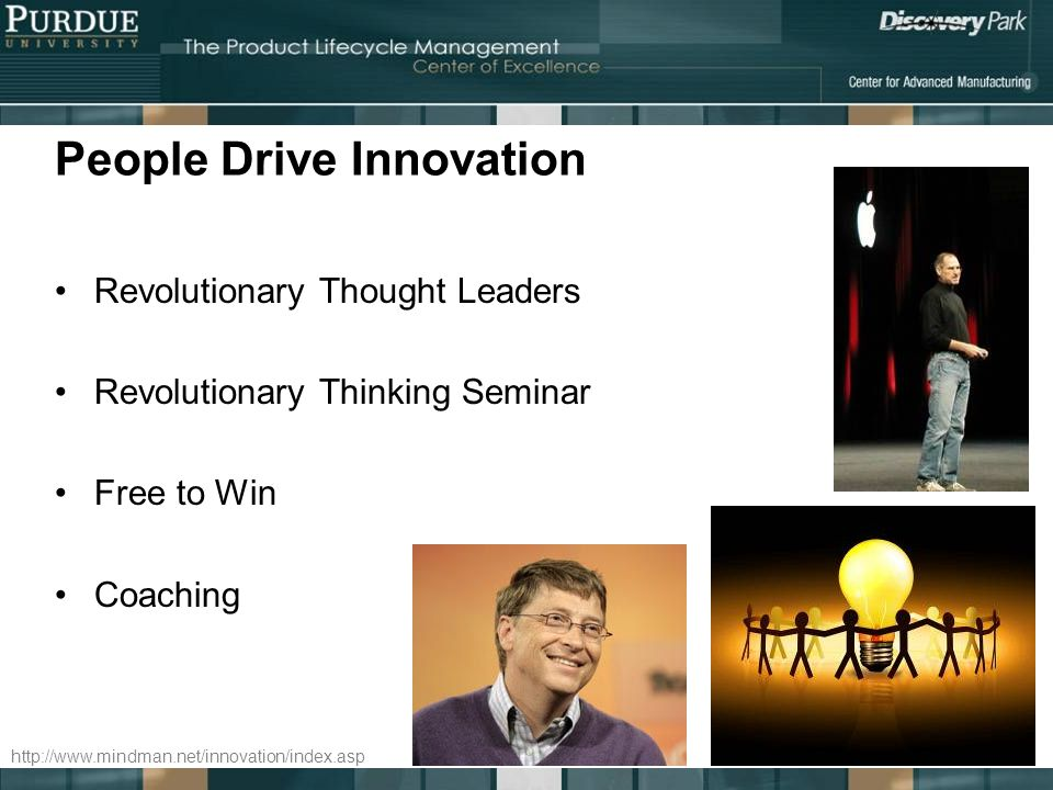 People Drive Innovation