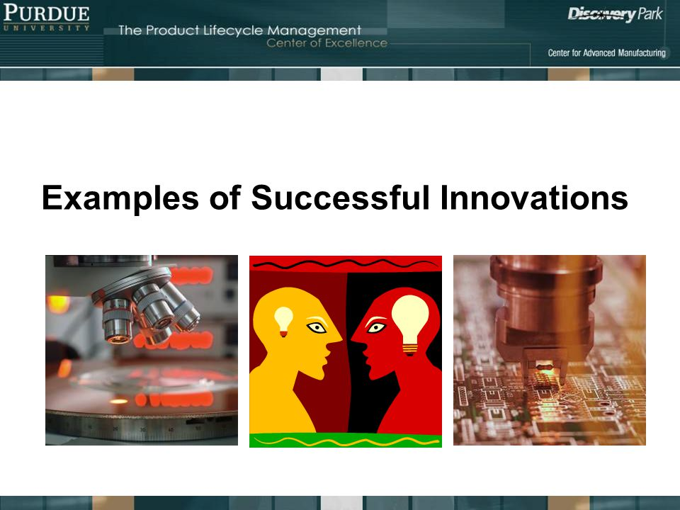 Examples of Successful Innovations