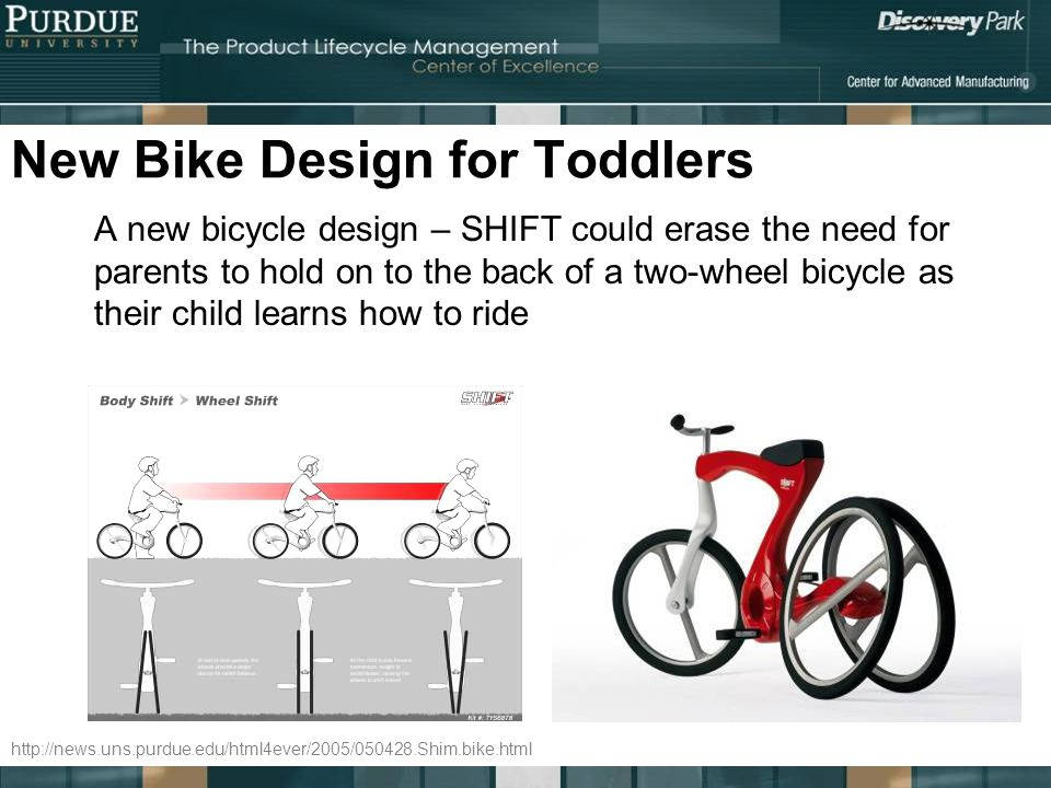 New Bike Design for Toddlers