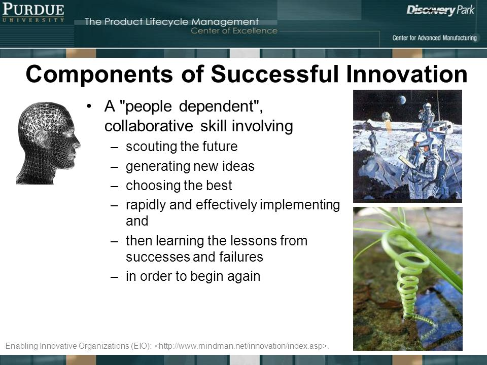 Components of Successful Innovation