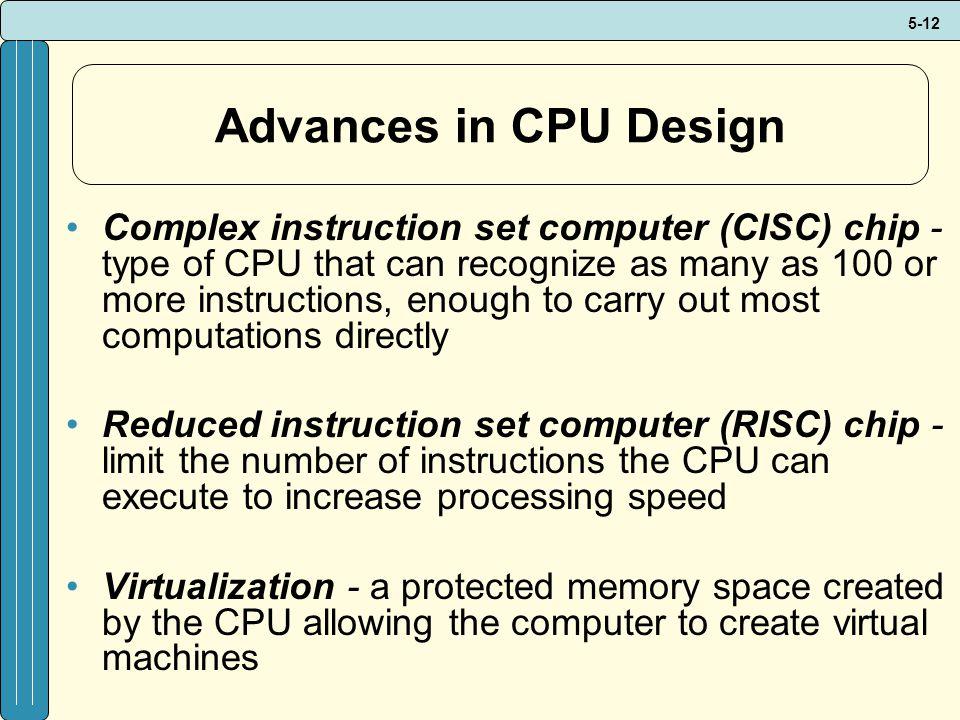 Advances in CPU Design