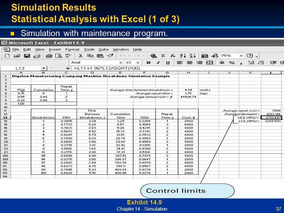 Statistical Analysis with Excel (1 of 3)