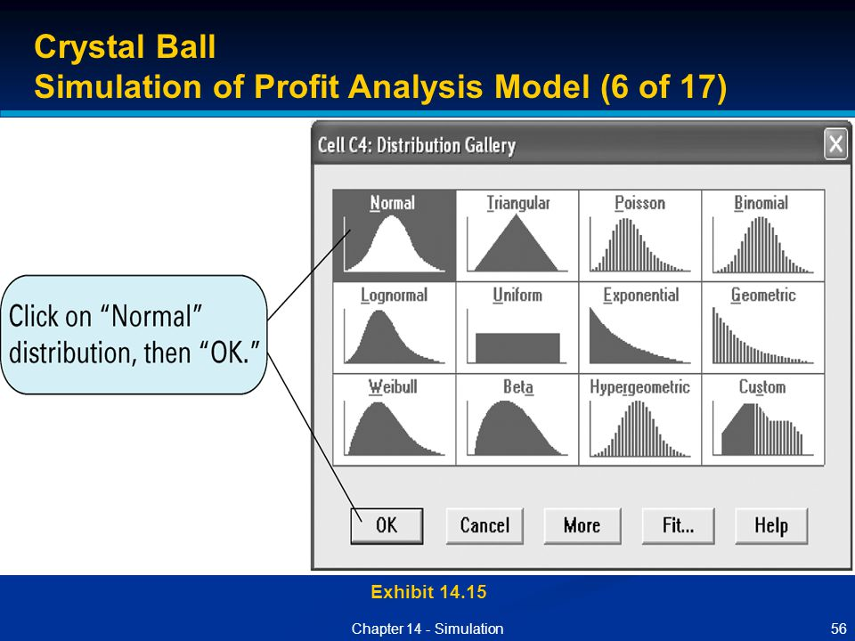 Simulation of Profit Analysis Model (6 of 17)