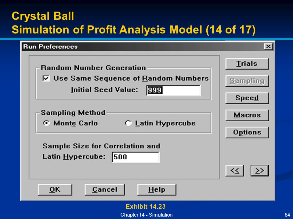 Simulation of Profit Analysis Model (14 of 17)