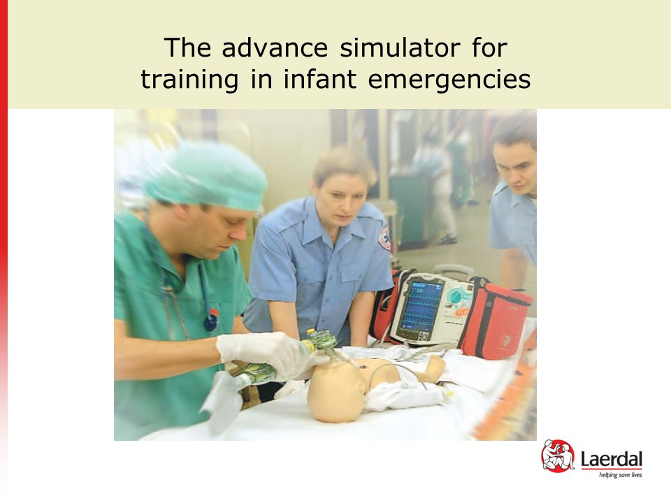 The advance simulator for training in infant emergencies