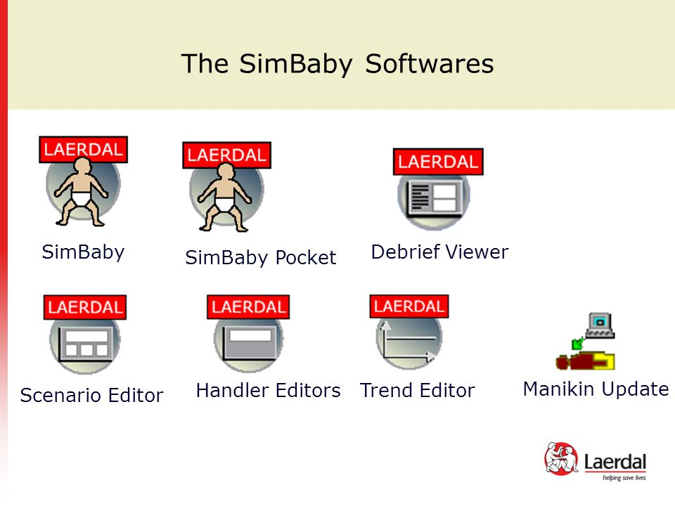 The SimBaby Softwares SimBaby Debrief Viewer SimBaby Pocket