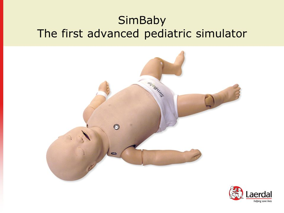SimBaby The first advanced pediatric simulator