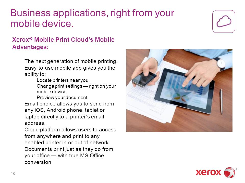 Business applications, right from your mobile device.