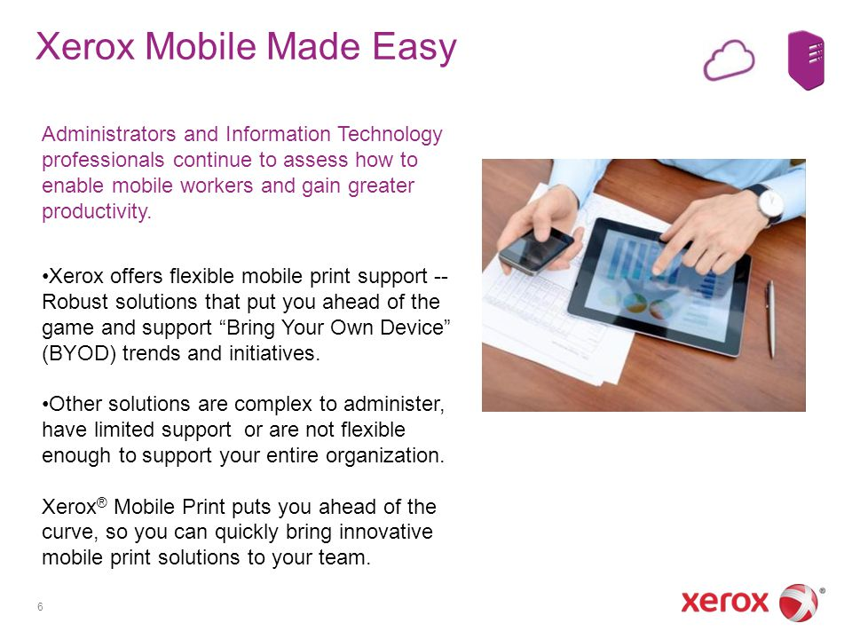 Xerox Mobile Made Easy