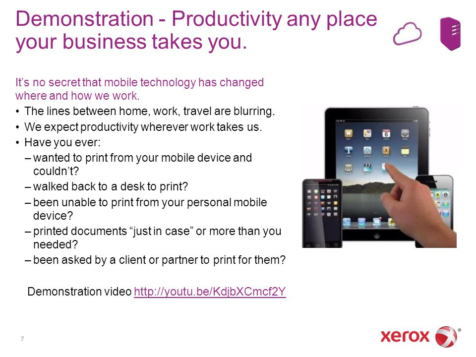 Demonstration - Productivity any place your business takes you.