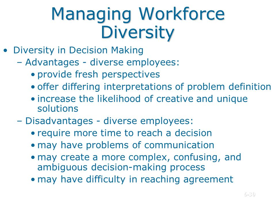 managing workforce diversity essay Managing diversity in the workplace essay are instances, however, when workplace behavior can get out of hand and be inappropriate, causing a rift between employees.