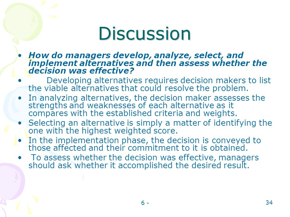 why is decision making often described as the essence of a manager job Answer to why is decision making often described as the essence of a manager's job.