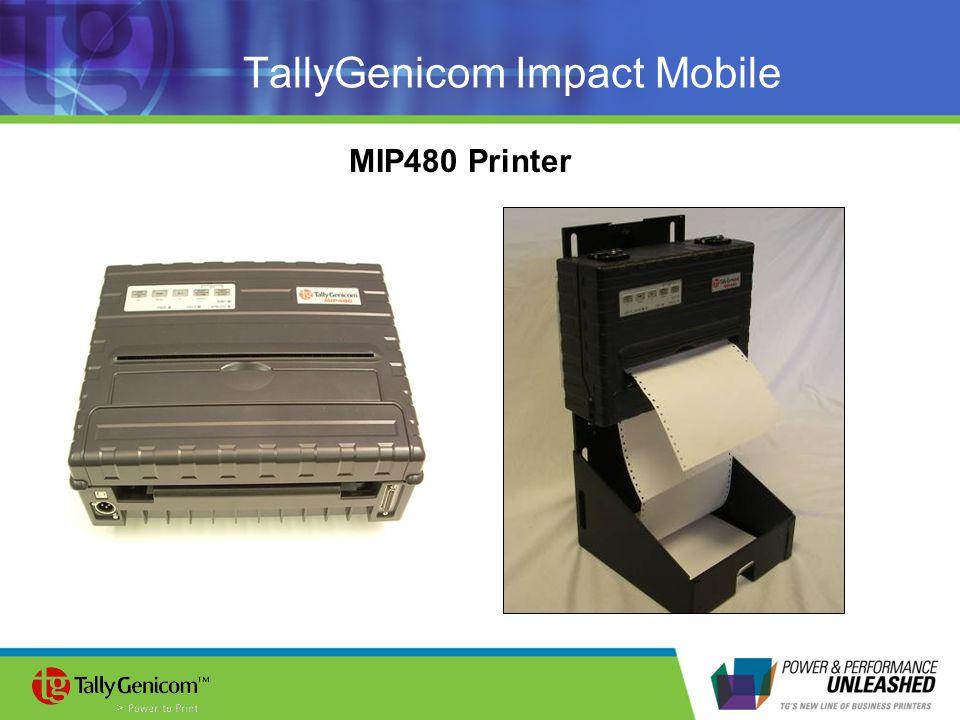 TallyGenicom Impact Mobile