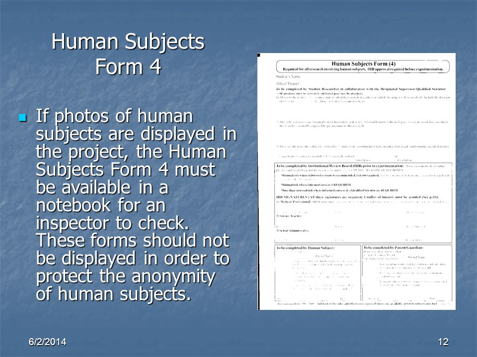 Human Subjects Form 4.