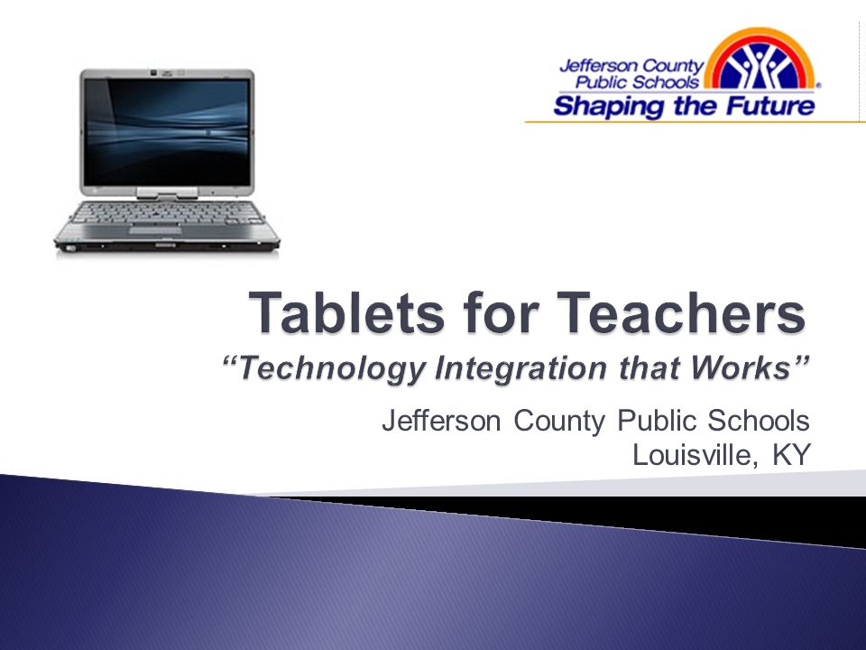 Tablets for Teachers Technology Integration that Works