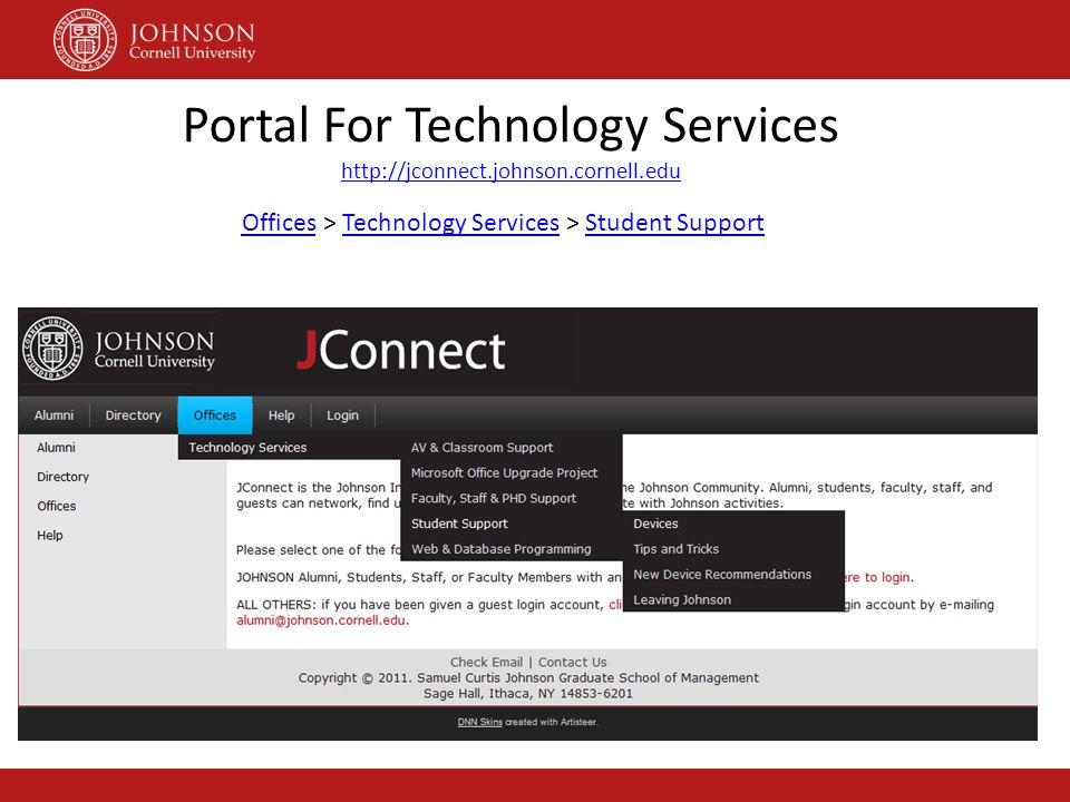 Portal For Technology Services
