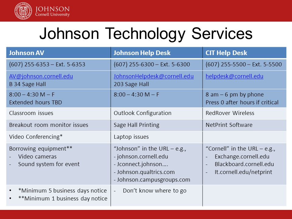 Johnson Technology Services