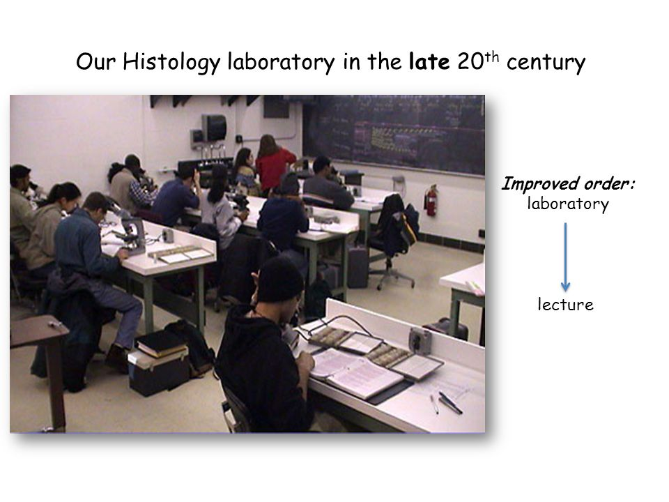Our Histology laboratory in the late 20th century