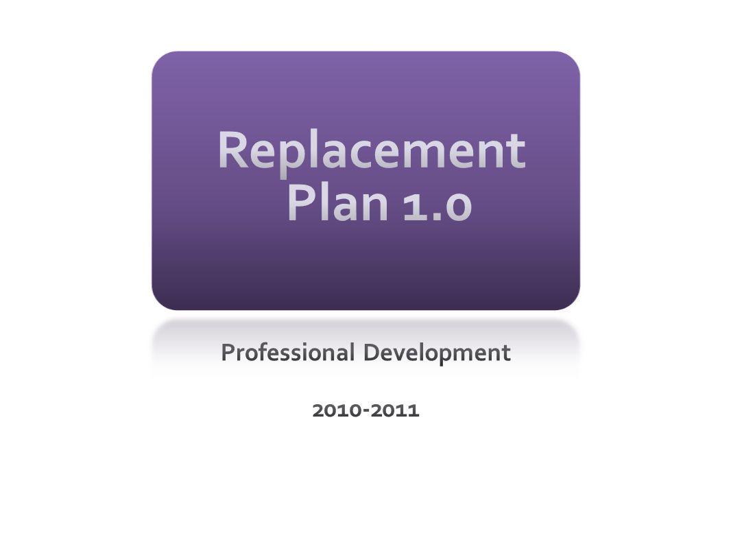 Professional Development 2010-2011