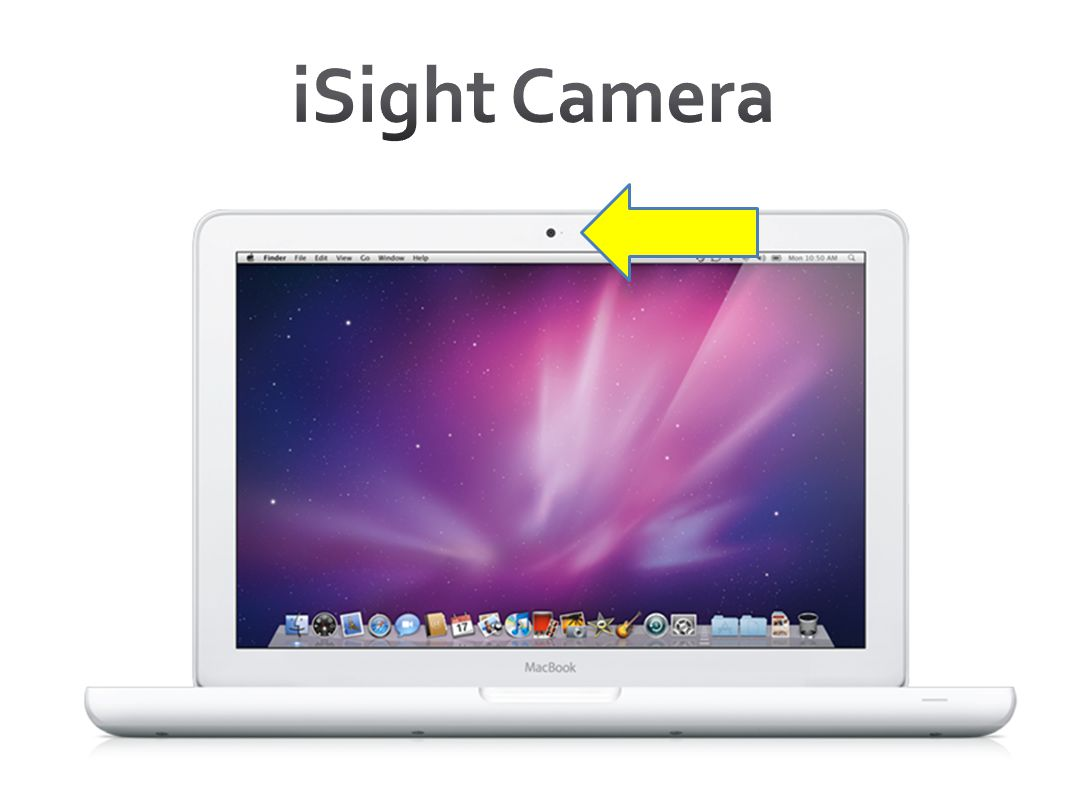 iSight Camera LED light indicates when cam is on- NOT a MIC