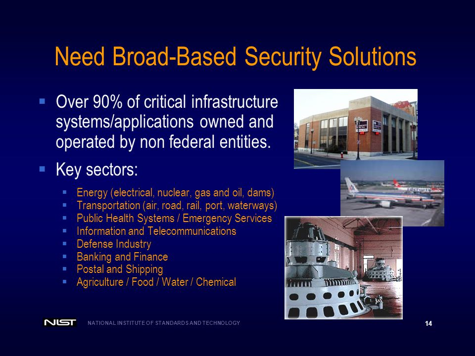 Need Broad-Based Security Solutions
