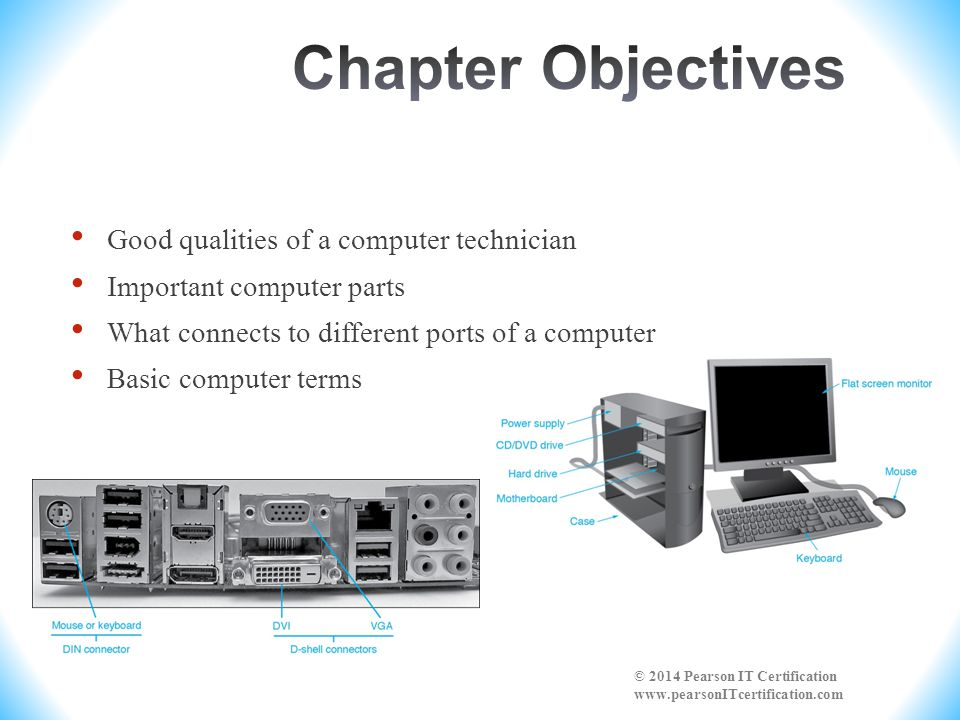 Chapter Objectives Good qualities of a computer technician