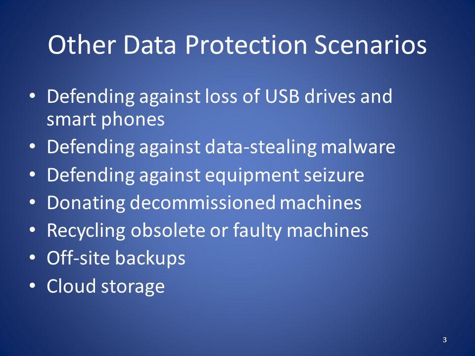 Other Data Protection Scenarios