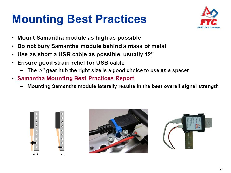 Mounting Best Practices
