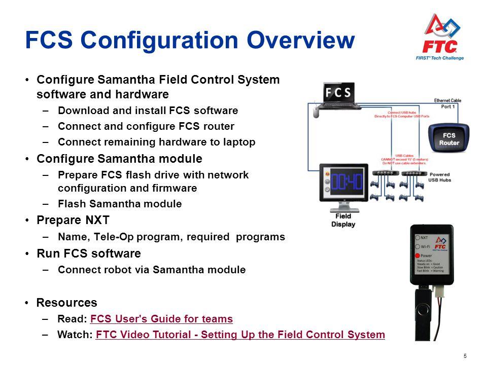 FCS Configuration Overview