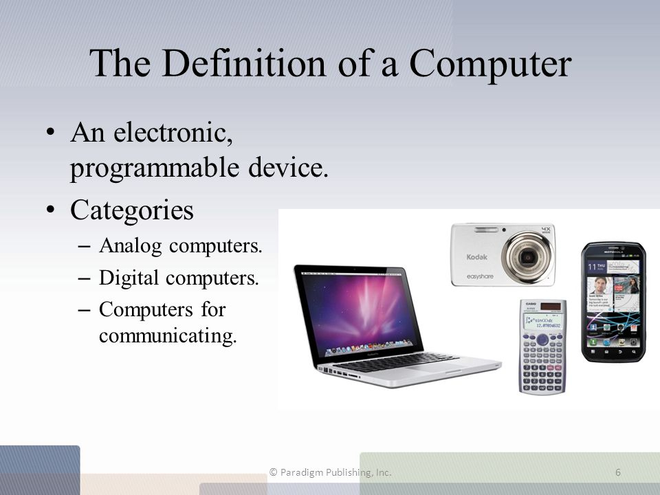 The Definition of a Computer