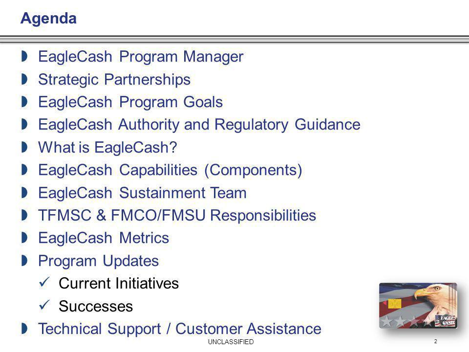EagleCash Program Manager Strategic Partnerships