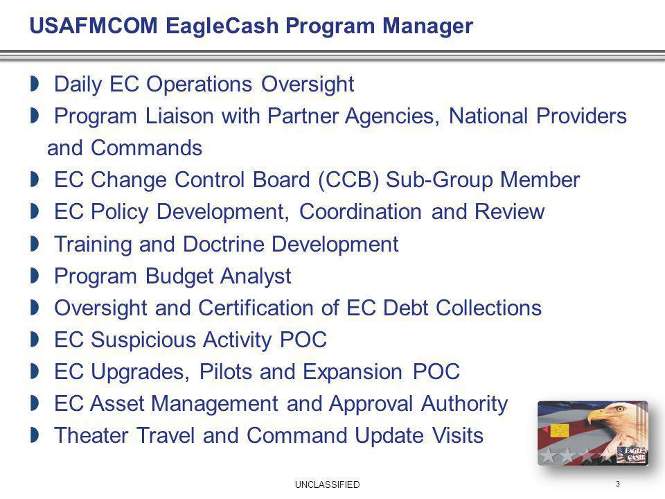USAFMCOM EagleCash Program Manager