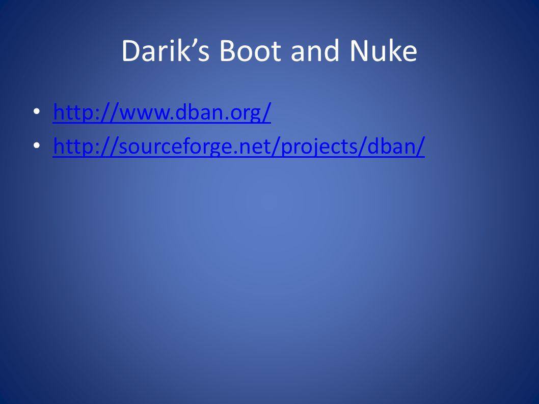 Darik's Boot and Nuke http://www.dban.org/